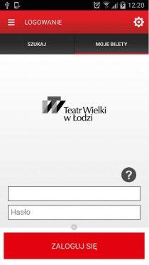 Teatr Wielki w Łodzi aplikacja mobilna