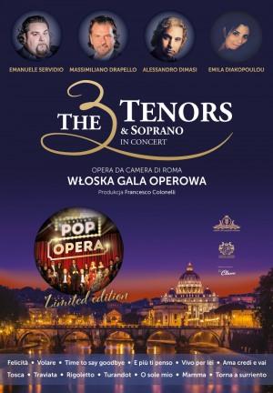 The 3 Tenors & Soprano - POP OPERA ITALY