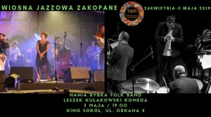 Folk & Jazz pod Tatrami   Hania Rybka Folk Band   Leszek Kułakowski Komeda