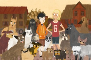 Jakub, Mimi i gadające psy