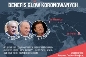 BENEFIS GŁÓW KORONOWANYCH: Czerwińska-Cichy-Wielicki