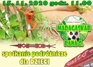 MADAGASKAR PANA O. - spotkanie podróżnicze dla dzieci