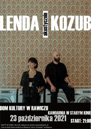 LENDA/KOZUB koncert