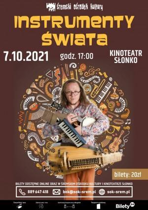 Koncert Instrumenty Świata - T.ETNO