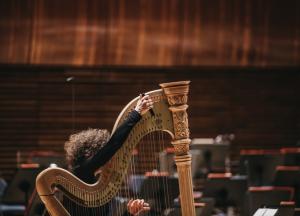 Scena Młodych / Koncert laureatów Międzynarodowego Konkursu Duetów z Harfą w Cieszynie