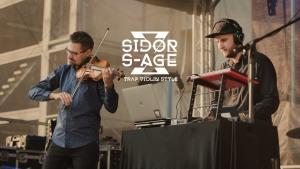 Sidor x S-Age: skrzypek orkiestry AUKSO Marcin Sidor w duecie z  dj-em Szymonem Herbusiem