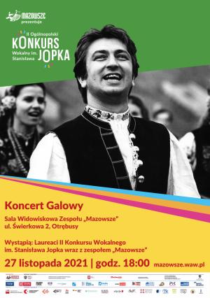 Koncert Galowy Ogólnopolskiego Konkursu Wokalnego im. St.Jopka