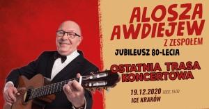 Alosza Awdiejew - ostatnia trasa koncertowa | Kraków