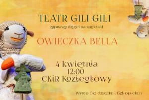 """Spektakl dla dzieci """"Owieczka Bella"""""""