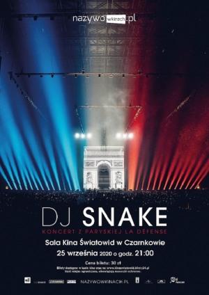 """""""DJ SNAKE -  koncert z paryskiej La Défense"""""""