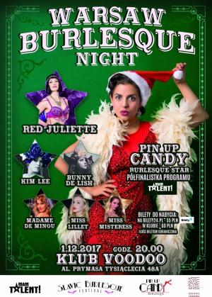 Warsaw Burlesque Night vol. 6 – Christmas Edition