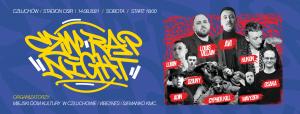 Festiwal CZW RAP NIGHT 2021 - Avi & Louis Villain, Kukon, Lubin, OsaKa, Cypher Kill, Dziuny, Adin, Wavyzien