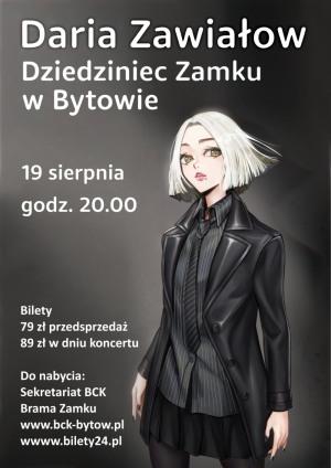 Koncert DARIA ZAWIAŁOW