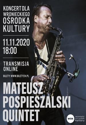 Mateusz Pospieszalski Quintet - online