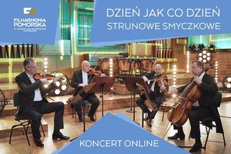 """Bilety na wydarzenie - Koncert dla dzieci """"Dzień jak co dzień - strunowe smyczkowe"""", -Transmisja Online"""