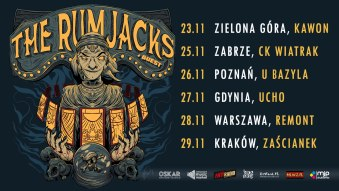 The Rumjacks + The Sandals | Poznań, 26.11.2021