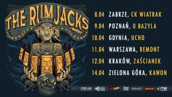 The Rumjacks + The Sandals | Poznań, 09.04.2021