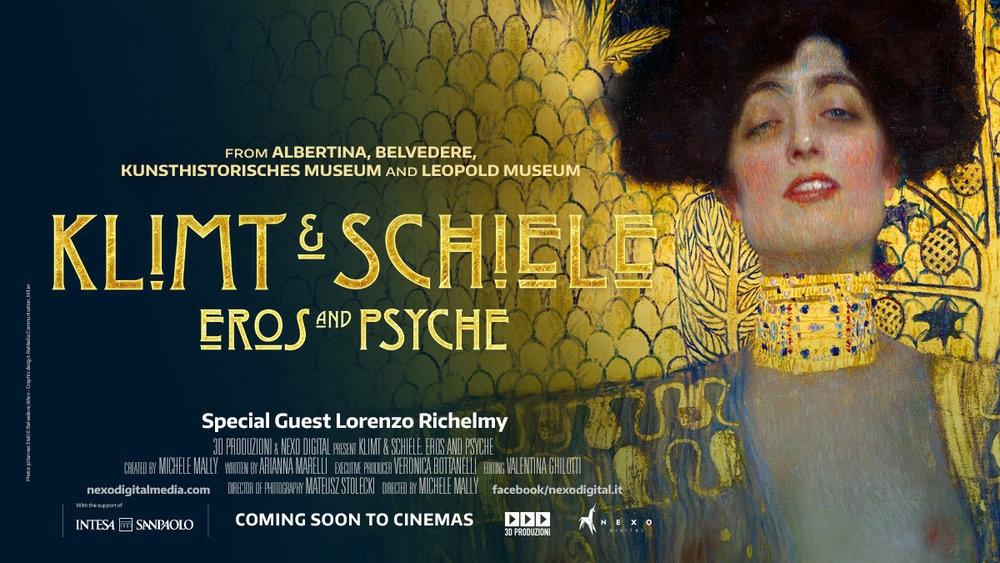 Film - Klimt i Schiele. Eros i Psyche