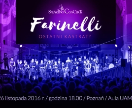 SPEAKING CONCERT - FARINELLI