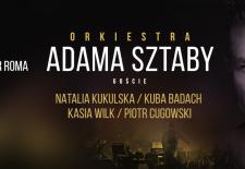 Bilety na: Orkiestra Adama Sztaby - 10 lat na scenie: Kukulska, Badach, Wilk, Cugowski // Warszawa