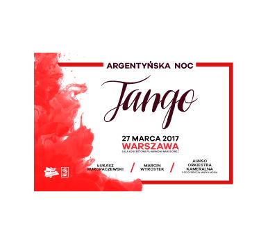 Argentyńska noc – tango: Kuropaczewski, Wyrostek, AUKSO