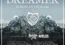 Bilety na: DREAM ON, DREAMER +April In Pieces / 13.10.2016 / Chmury / Warszawa