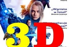 Bilety na: Valerian i Miasto Tysiąca Planet - 3D Dubbing