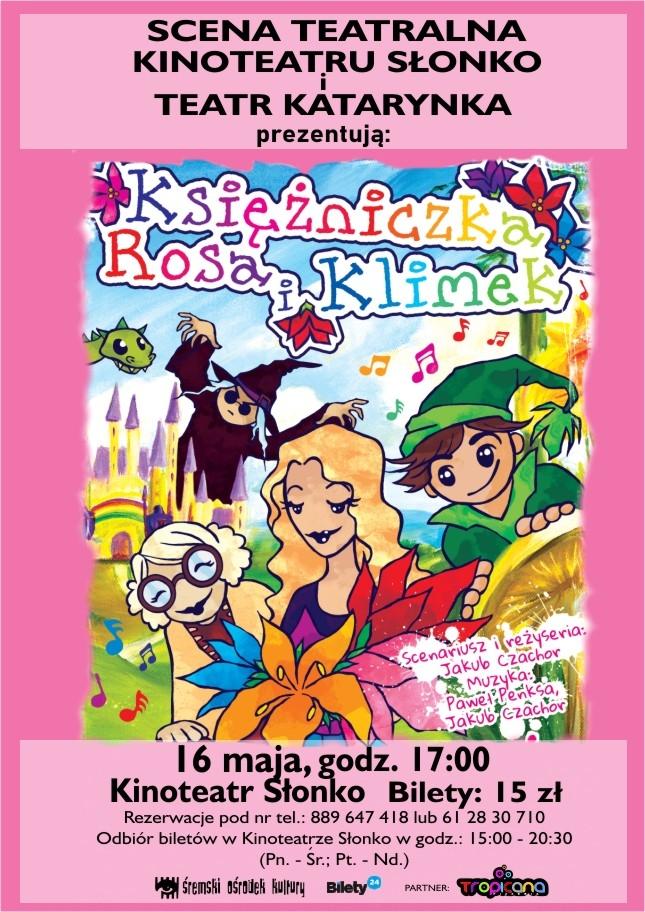 Spektakl - Spektakl - Księżniczka Rosa i Klimek