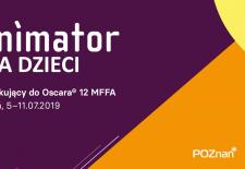 Bilety na: ANIMATOR 2019: ANIMATOR DLA DZIECI / O raku łobuziaku i inne filmy animowane