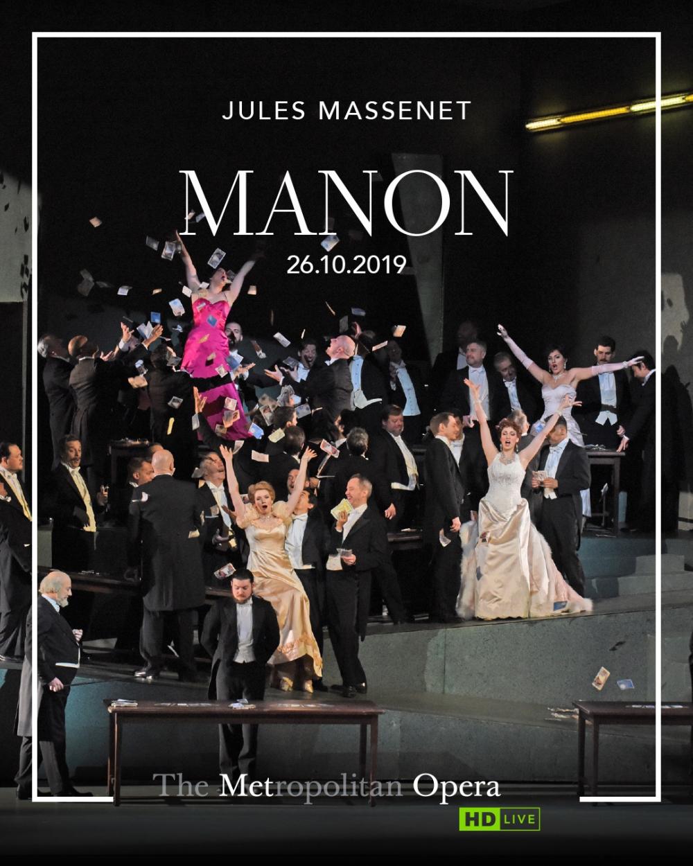 Opera - THE MET OPERA 2019-20: Manon