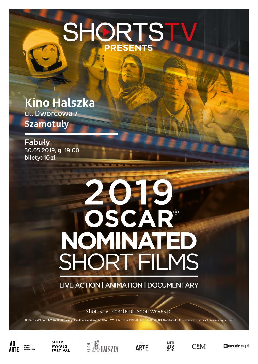 Film - DKF:OSCAR® NOMINATED SHORTS 2019: FILMY AKTORSKIE