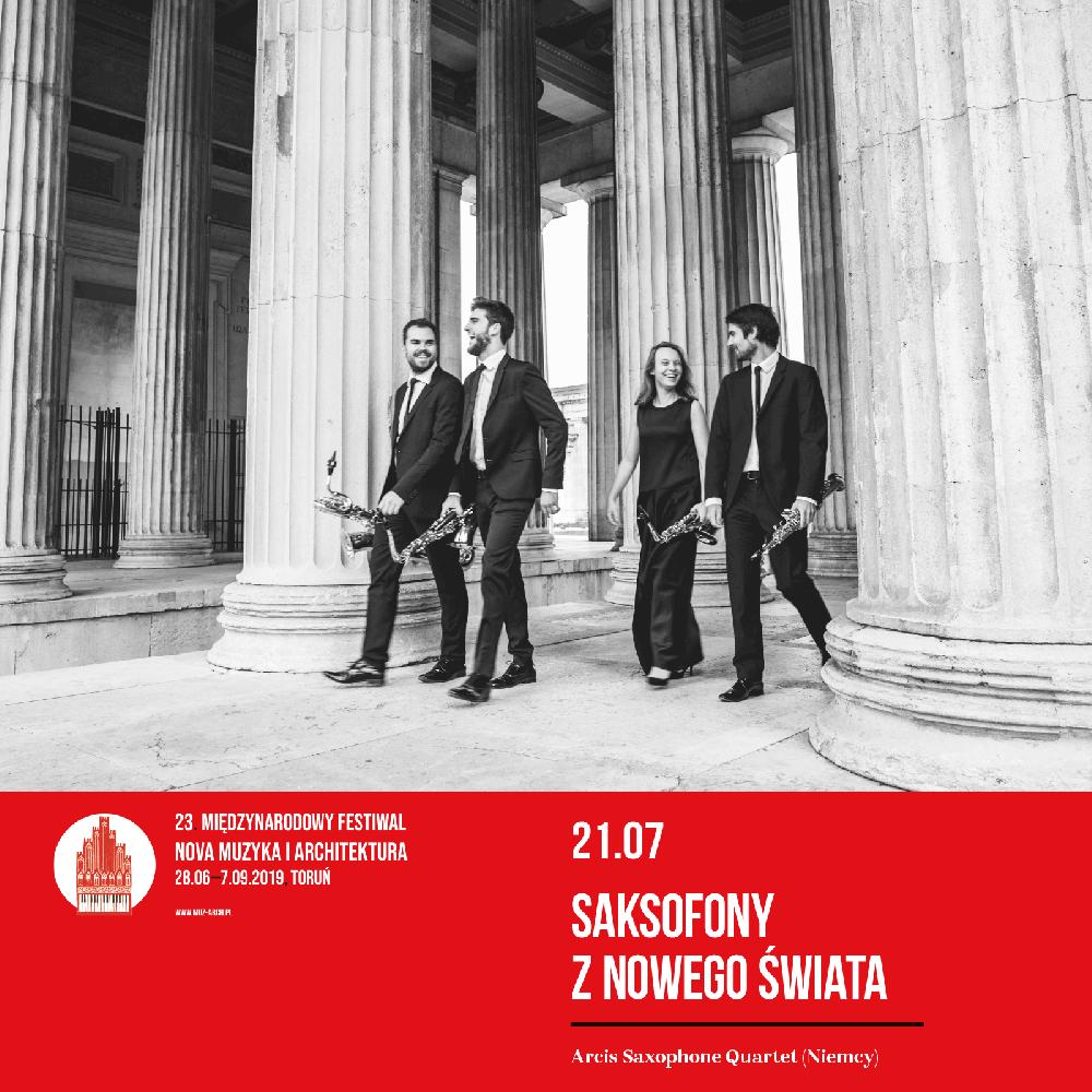 Koncert - SAKSOFONY Z NOWEGO ŚWIATA | Festiwal