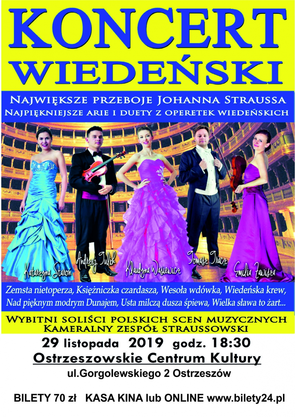 Koncert - Koncert Wiedeński Tomczyk Art