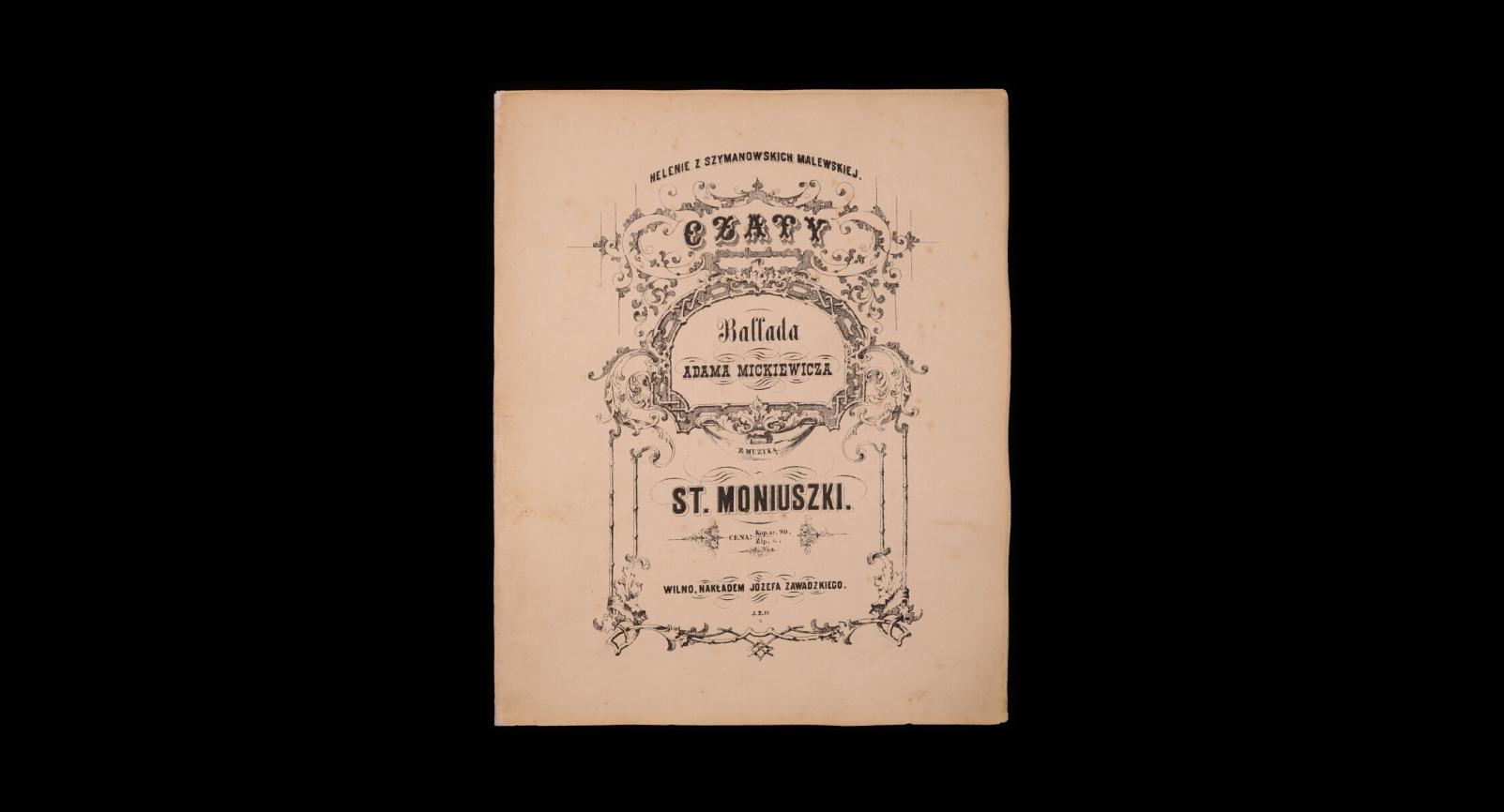 Koncert - Pieśni, duety i ballady Moniuszki