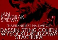 Bilety na: Jan Kondrak