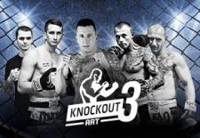 Bilety na: Gala Sportów Walki Knockout Art 3