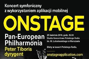 Pan-European Philharmonia - koncert symfoniczny z wykorzystaniem aplikacji  Onstage