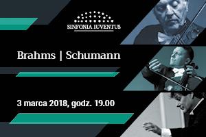 Koncert Polskiej Orkiestry Sinfonia Iuventus - Brahms/Schumann