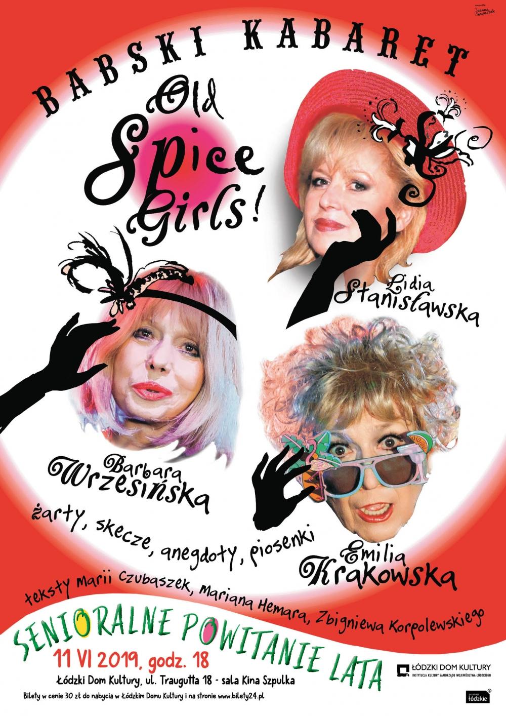 Kabaret - OLD SPICE GIRLS – BABSKI KABARET czyli SENIORALNE POWITANIE LATA