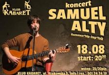 Bilety na: Koncert Samuel Alty flamenco/hip-hop/folk
