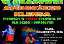 Bilety na: W pracowni Ambrożego Kleksa – pierwszy w Polsce spektakl w świetle UV dla dzieci i dorosłych .