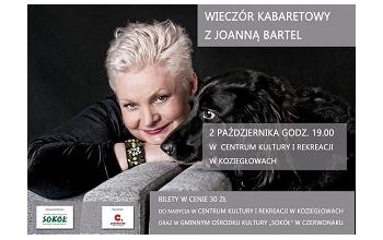 Wieczór Kabaretowy z Joanną Bartel