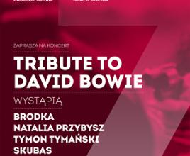 Międzynarodowy Festiwal Filmowy Tofifest: TRIBUTE TO DAVID BOWIE