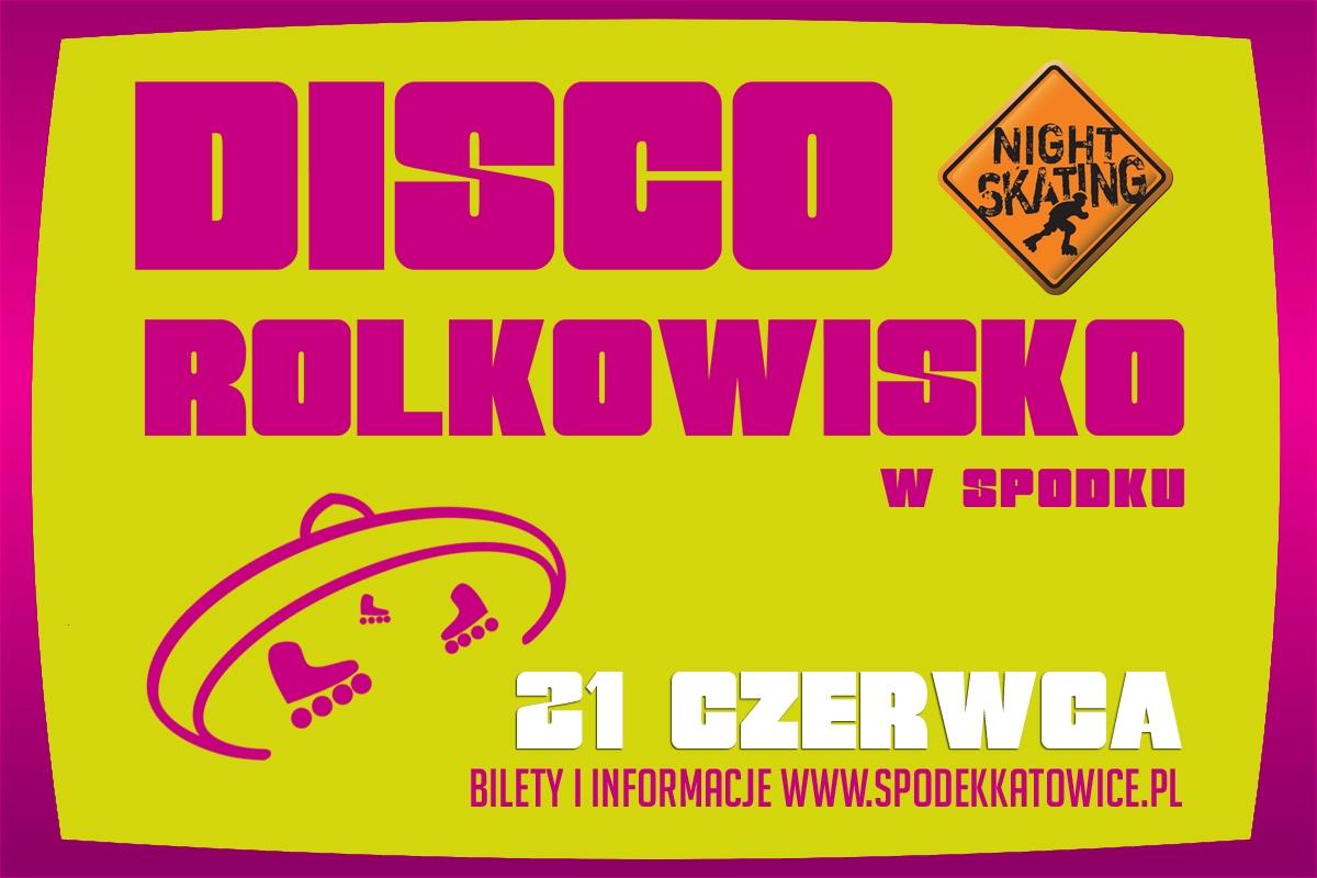 Inne - Disco Rolkowisko w Spodku