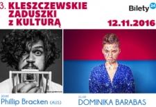 Bilety na: Dominika Barabas - Phillip Bracken. Kleszczewskie Zaduszki z Kulturą
