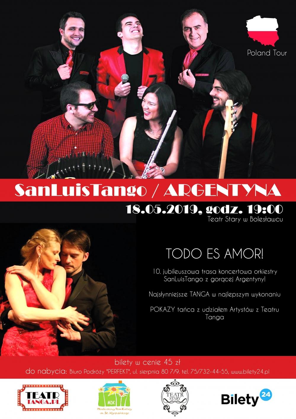 Koncert - San Luis Tango | ARGENTYNA